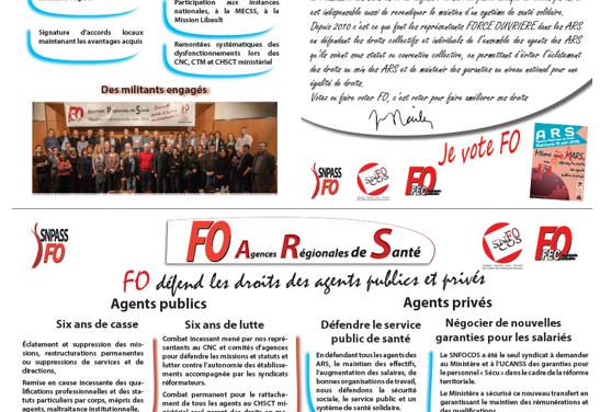 Rappel : Elections professionnelles dans les ARS le 16 juin 2016