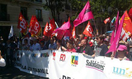 Communiqué commun FO, CGT, FSU, Solidaires, UNEF, FIDL et UNL du 22 juin 2016