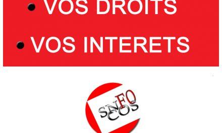 Le SNFOCOS se félicite de la nouvelle section syndicale à Alençon (Orne)
