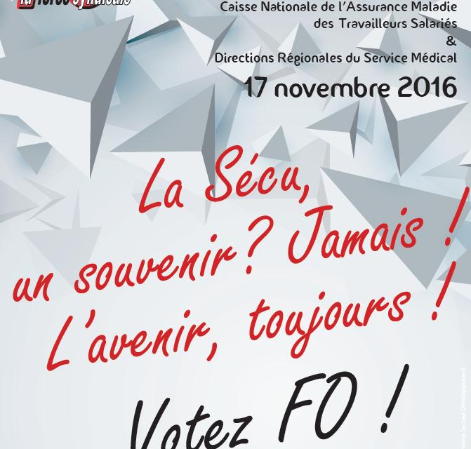 Clip du lancement de la campagne électorale CNAMTS et DRSM