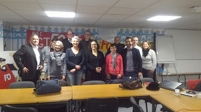 Rencontre des cadres SNFOCOS des Régions Bretagne et Pays de la Loire le 19 janvier dernier