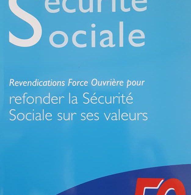 Parution des revendications FO pour refonder la Sécurité sociale sur ses valeurs