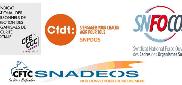 DÉCLARATIONCOMMUNE des organisations syndicales D'AGENTS DE DIRECTION sur le projet d'accord de mise à jour de la CONVENTION COLLECTIVE ADD