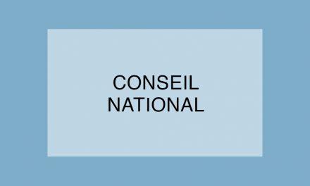 Le SNFOCOS réaffirme ses positions lors de son Conseil National