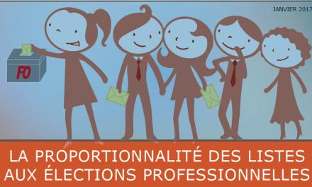 La proportionnalité de listes aux élections professionnelles – Circulaire Confédérale et Fiche Pratique