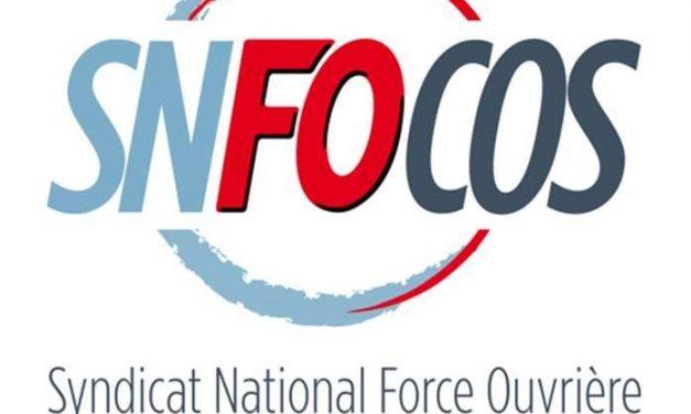 Déclaration du SNFOCOS à la réunion d'informations et d'échanges relative au versement d'une prime exceptionnelle liée à la crise sanitaire du 29 juin 2020