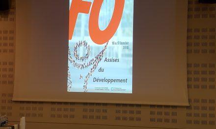 Le SNFOCOS aux assises du développement de FO