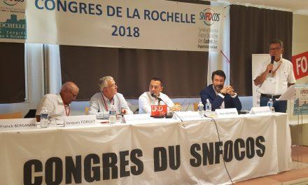 Discours d'Alain Gautron pour l'ouverture du Congrès le 1er octobre 2018
