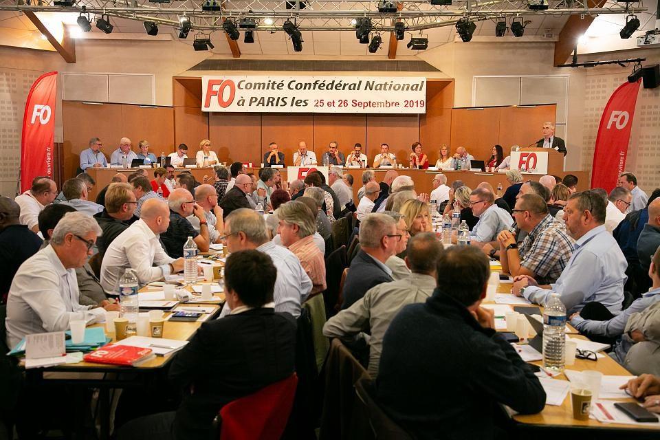 FO – Résolution du CCN des 25 et 26 septembre 2019 – Sécurité sociale