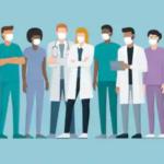 COVID-19 : Statut du personnel médical sur une plateforme de téléconsultation COVID
