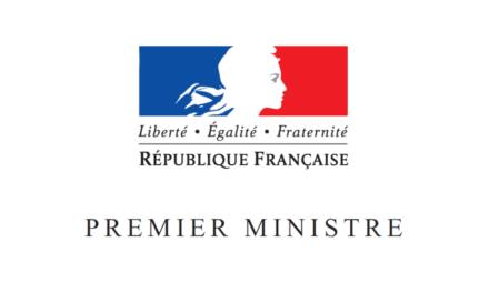 Courrier du 2 avril 2020 adressé à Monsieur Thomas Fatome, Directeur de Cabinet Adjoint du Premier Ministre